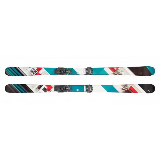 Комплект the Show  + ATTACK² 13 GW Brake 85 [A] (315549+114316) (горные лыжи+крепления гл) black/turquoise