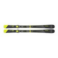 Комплект super Joy SW SLR Joy Pro + JOY 11 GW SLR BRAKE 78 [H] (315600+100801) (горные лыжи+крепления гл) black/neon yellow